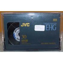 Fita Jvc Ehg30 Hi Fi 90min. Tc-30 Usada P/câmera De Vídeo