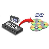 Conversão Vhs Ou 8mm Para Dvd Ou Pen Drive - Retiramos