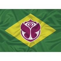 Bandeira Tomorrowland Brasil - Pronta Entrega - Frete Gratis