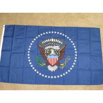 Bandeira Presidencial Casa Branca The White House 154cmx85cm