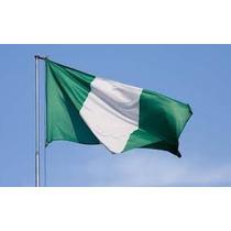 Bandeira Nigeria 1,5mx90cm Festas Decoração