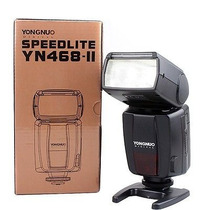 Flash Canon Yongnuo Ttl Flash Speedlite Yn-468ii Yn468ii For