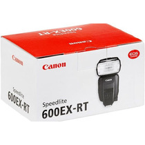 Flash Canon Speedlite 600ex-rt Brinde Difusor Mercadplatinum