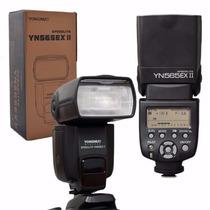 Flash Yongnuo Yn-565ex Ii Ttl Canon 70d 60d 5d 7d T5i E-ttl