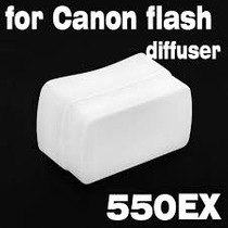 Difusor Para Flash Canon 550 Ex 540 Ez Omni Bounce