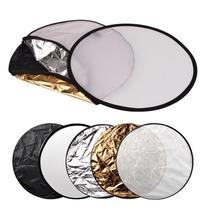 Rebatedor/difusor Circular Dobrável 5 Em 1 - 110cm - Estúdio