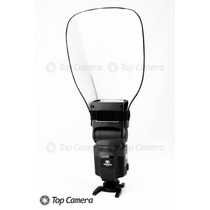 Difusor Rebatedor Universal Para Flash Speedlight