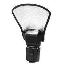 Rebatedor Difusor Universal Para Flash Nikon Canon ...
