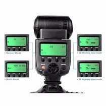 Flash Viltrox Speedlite Jy 680a Para Canon E Nikon Universal