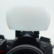 Difusor Flash Pop Up - Universal 3 Cores - Canon Nikon Fuji