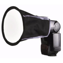 Softbox Difusor Rebatedor Flash Universal Speedlight Korea