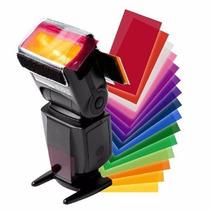 Difusor Gel Colorido P/ Flash Speedlite 600 Ex Sb910 430ex..