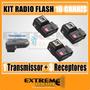 Kit Radio Flash Trigger 16 Canais Wireless C/sup P/sombrinha