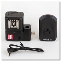 Radio Flash Trigger Sem Fio Wireless 16 Canais Sup Sombrinha