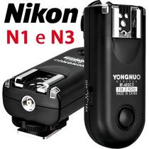 Radio Flash Yongnuo Rf- 603 Ii (versão 2) | Nikon N1 E N3