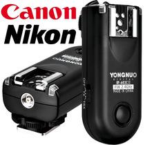 Radio Flash Yongnuo Rf- 603 Ii (versão 2) | Canon E Nikon