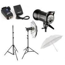 Kit Studio Fotografico 600w Profissional Greika Apolo 2 220v
