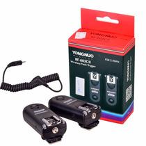 Radio Flash Yongnuo Rf-603c C1 Canon 60d T2i T3 T1i 550d 500