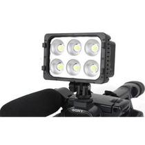 Iluminador Sun Gun 6 Super Leds Câmeras E Filmadoras - 8221