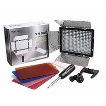 Iluminador Led Yn-300 Video Filmagem Camera D-slr 2280 Lumen