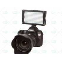 Iluminador Kit 144 Leds Profissional P/ Filmadora Vídeo Dslr