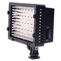 Iluminador Cn - 160 Led Para Filmadora E Câmera Fotográfica