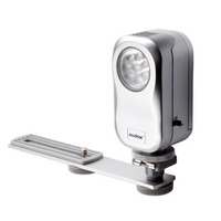 Iluminador Led Godox Vdl-220 Video Light Com Suporte Sapata