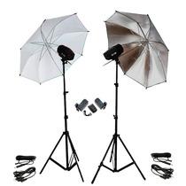 Estúdio Iluminação Argos K150 - Flash, Tripé, Sombrinha 110v