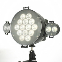 Iluminador P/ Câmera Xt-1 Super Completo + Potente 300 Leds