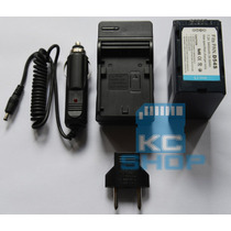 Carregador E Bateria P/ Iluminador Led Yn-160 Cn-160 126 196