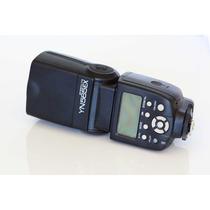Flash Yongnuo Yn 565ex Com Ttl Compatível Nikon + Difusor+nf