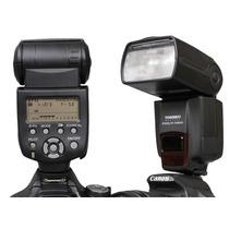 Flash Ttl Potente Yongnuo Yn-565ex Canon Nikon Equ 580-ex Ii