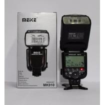 Flash Meike 910 Speedlite Igual Ao Sb910 Nikon
