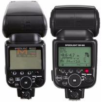 Flash Meike Mk-900 - Igual Sb900 .sb910 Nikon