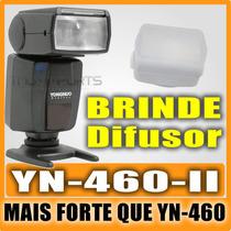Flash Speelight Yongnuo Yn460 Ii +difusor Nikon Canon Pentax