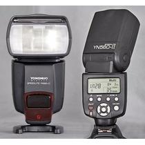 Flash Yongnuo 560 Ii Yn Speedlight Nikon Canon + Difusor