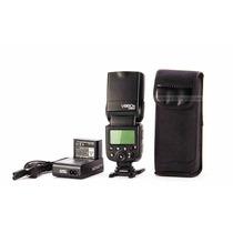 Flash Godox Ving V860c Com E-ttl Ii Canon + Bateria + Nf