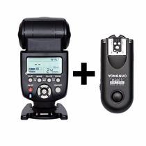 Flash Yongnuo Yn-560 Iii Vers 3+rádio+difusor Canon Nikon