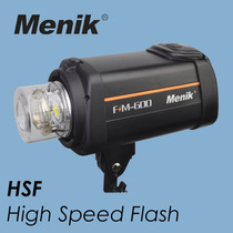 Flash Estudio Menik Fm600 600w Superior Ao Mako Atek