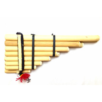 Quena Feita A Mão Flauta Peruana Indígena Inca Pan Hecha