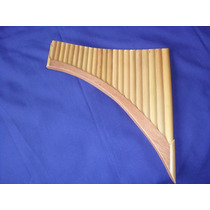 Flauta Pan Bambu + Cd Audio Panflute
