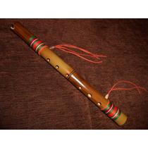 Flauta Andina Quena / Quenacho De Bambu - Sopro Nativo
