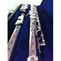 Flauta Transversal Armstrong 100 - Cabeça De Prata