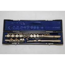 Flauta Transversal Yamaha Yfl-23 Niquelada Afinação Dó