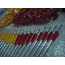 5 Flechas Alumínio 75 Cm Alta Resistência Para Arco