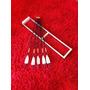 Flechas De Madeira Com Penas Naturais - Kit Com 5 Unidades