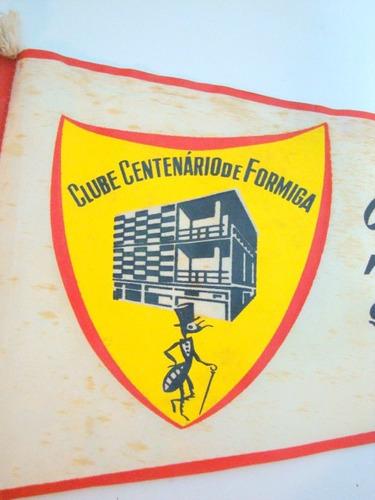 Flâmula Clube Centenário De Formiga