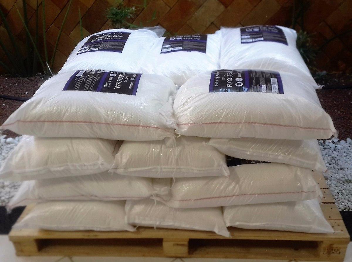 Flor de sal produzida no brasil saco de 20kg r 545 00 - Sacos de sal para descalcificador ...