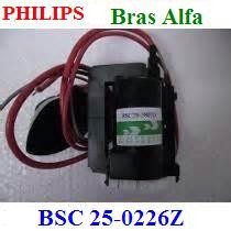 Bsc25-0226z - Bsc 25 0226z - Fly Back Philips - Bras Alfa !