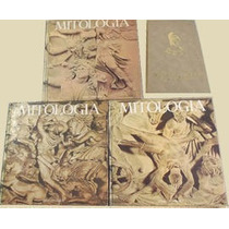 Coleção Mitologia 3 Volumes + Dicionário Greco Romano Abril